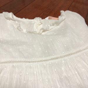 Zara Tops - Zara White Flowy Blouse